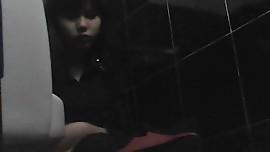 hidden camera beautiful girl vietnam in toilet