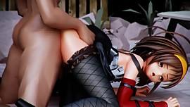 The Eccentricity of Haruhi Suzumiya 3D Hentai