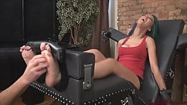 Nonstop Foot Tickling
