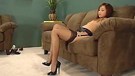 Tia Tanaka Foot Tease
