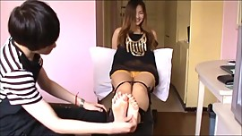Cute Asian girl tickle (Only tickling)