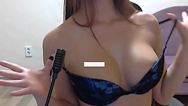 WinkTV Korean BJ Semi (세미) stripping on webcam 18