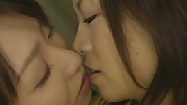 Japanese chearleader seduced by her lesbian coach