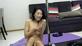 Freshly in love Asian couple making love sex videos vol 1