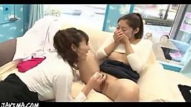 Tokyo Lesbians Public Sex Display