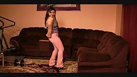 TK posing at home 4