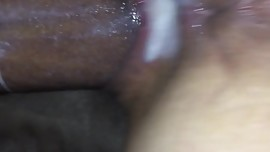 Sexy Asian creaming all over my dick