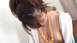 Sexy Japanese porn show along busty Jun Mise