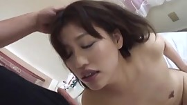 Sex with small tits Japanese babe, Ririka