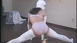 unknown Japanese wrapped bondage