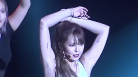 HyunA red fancam