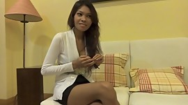 First time in the Porn for a stunning Asian Girl.