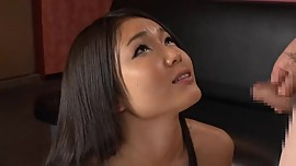 Small dick Big facial on asia face