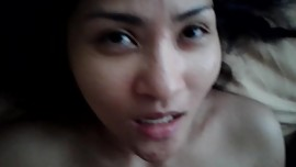 Thai girl suck white cock