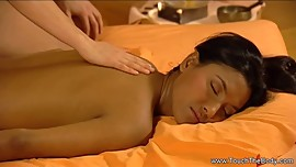 Brunette Babes Try New Massage