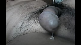 Self Anal Creme 7- AssBrush Prosate Anal Orgasm with Milked
